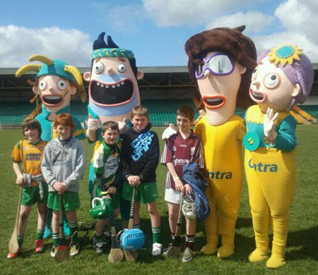 Action from the Centra-sponsored Fun Day in MacCumhaill Park.