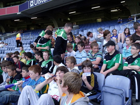 The underage hurlers annual trip to the All-Ireland semi-final in Croke Park.