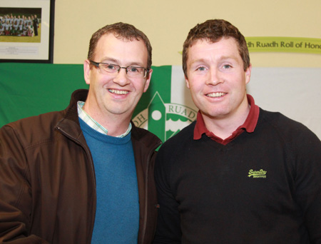 Scenes from the visit of Galway star to Damien Hayes to Aodh Ruadh.