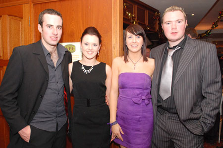 Pierce Laughlin, Pauline Flood and Kirsty McElhinney and Joseph Watson.
