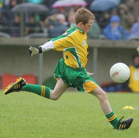 Action from the minigames at half time between Donegal and Antrim.