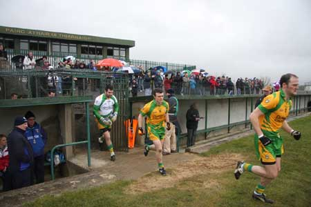 Action from the Donegal v Laois.