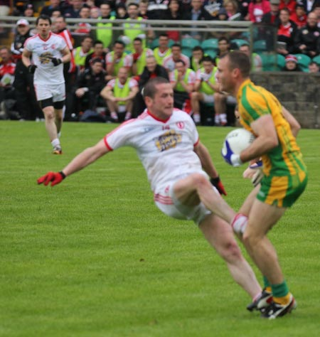 Scenes from the Ulster Football Championship quarter-finals between Donegal and Tyrone.
