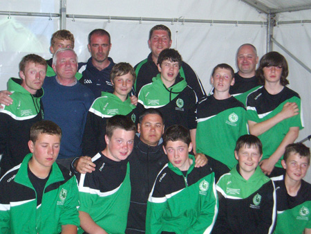 Aodh Ruadh at the National Féile in Clare.