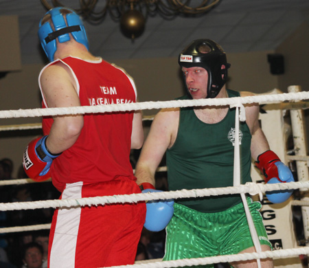 Scenes from 2013 Fight Night at the Blue Haven.