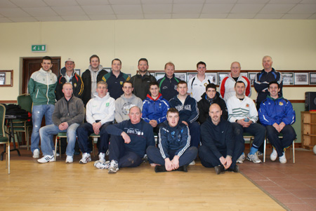 Participants at the Foundation Level Coaching Course which took place at Aodh Ruadh on Saturday, 27th February.