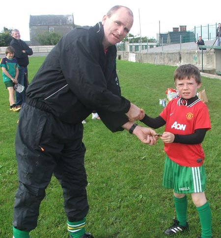 Second in the under 8 skills, Aaron Cullen.