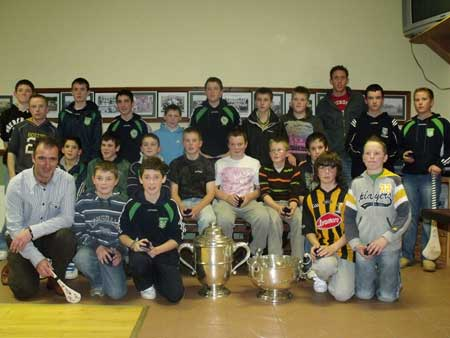 Under 14 Donegal league and championship winners with Peter Horan (manager) John Rooney (selector) and Michael Fennelly.
