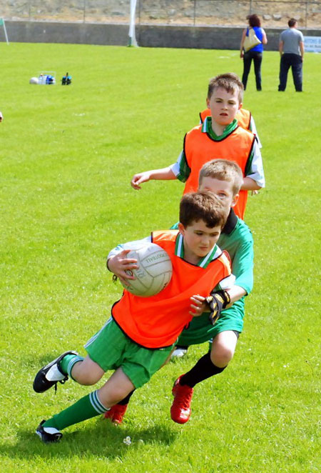 Action from the 2012 Mick Shannon tournament.