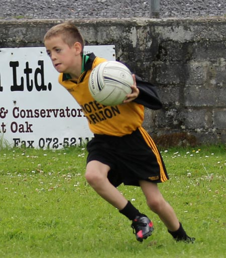 Action from the Mick Shannon Tournament in Father Tierney Park.