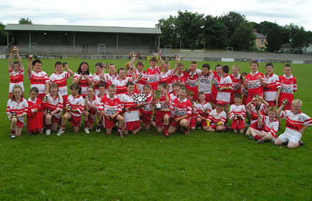 Killybegs A and B teams.