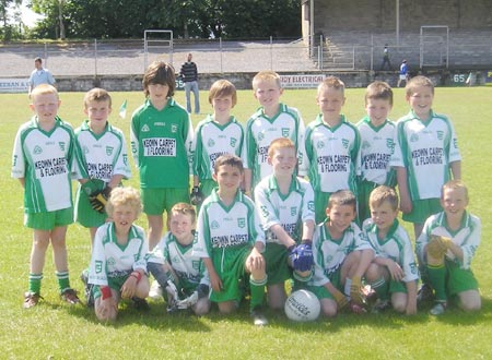 The Aodh Ruadh 'A' team which took part in the Mick Shannon under 10 tournament in Ballyshannon last Saturday..