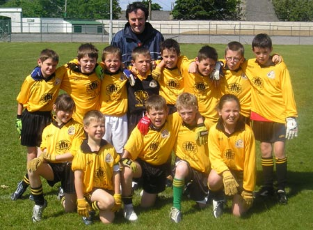 The Bundoran 'A' team which took part in the Mick Shannon under 10 tournament in Ballyshannon last Saturday..