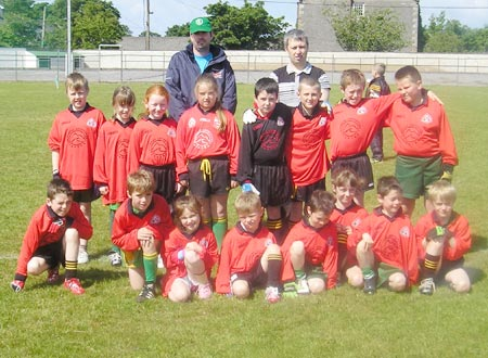 The Bundoran 'B' team which took part in the Mick Shannon under 10 tournament in Ballyshannon last Saturday..
