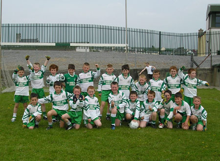 The Aodh Ruadh 'A' team which took part in the Michael Shannon Under 10 tournament in Ballyshannon last Saturday.
