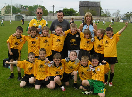 The Bundoran 'A' team which took part in the Michael Shannon Under 10 tournament in Ballyshannon last Saturday.