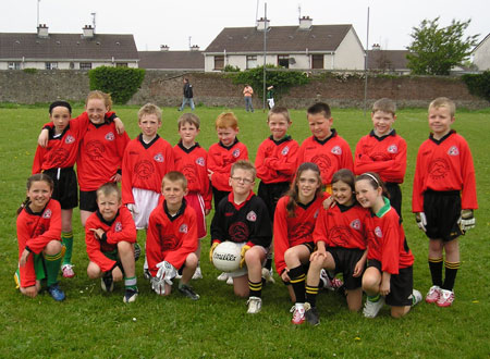 The Bundoran 'B' team which took part in the Michael Shannon Under 10 tournament in Ballyshannon last Saturday.