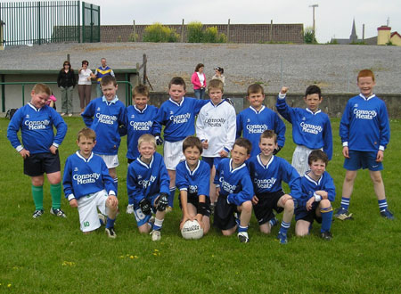 The Melvin Gaels 'A' team which took part in the Michael Shannon Under 10 tournament in Ballyshannon last Saturday.