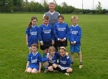 The Melvin Gaels 'B' team which took part in the Michael Shannon Under 10 tournament in Ballyshannon last Saturday.