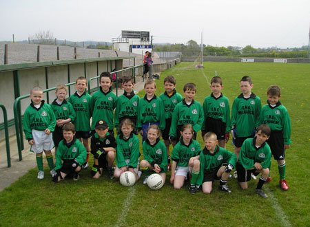 The Naomh Br�d 'A' team which took part in the Michael Shannon Under 10 tournament in Ballyshannon last Saturday.