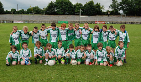 The Aodh Ruadh side which took part in the 2009 Mick Shannon tournament