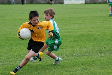 Action from the Aodh Ruadh v Bundoran 'A' game.