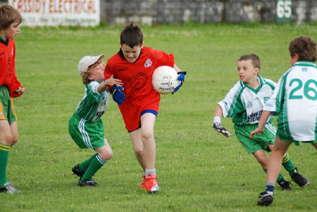 Action from the Aodh Ruadh v Bundoran 'B' game.