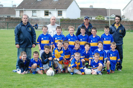 The Kilcar side which took part in the 2009 Mick Shannon tournament.