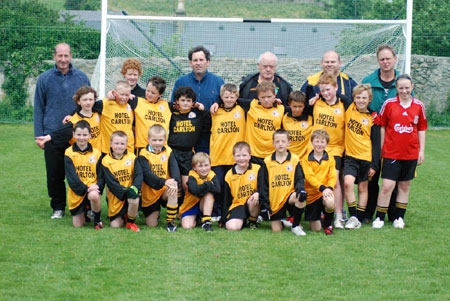 The Erne Gaels side which took part in the 2009 Mick Shannon tournament.