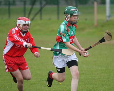 Action from the inaugural Peter O'Keefe tournament.