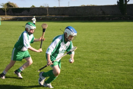Action from the official opening of Páirc Aoidh Ruaidh.