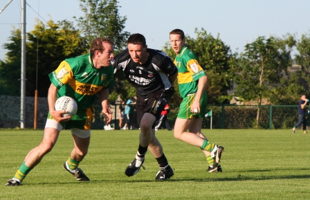 Action from the official opening of P�irc Aoidh Ruaidh.