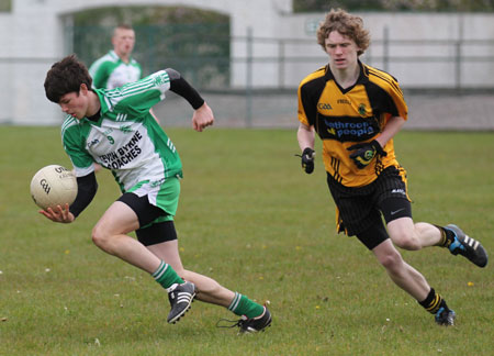 Action from the 2012 under 16 PJ Roper Tournament.