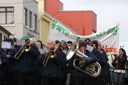 Aodh Ruadh take part in the 2011 Saint Patrick's Day parade.