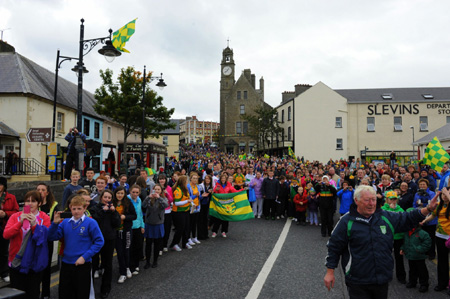 Ballyshannon welcomes Sam.