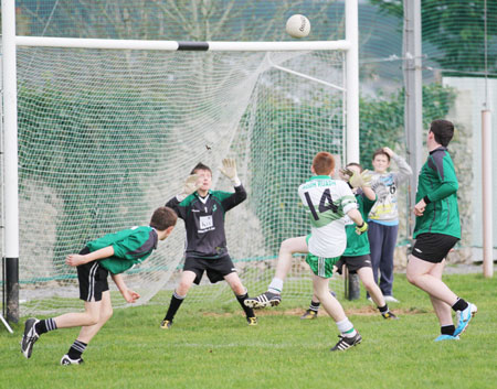 Action from the Sean Slevin final.