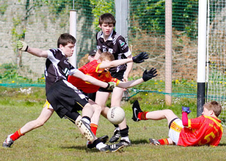 Action from the Sean Slevin tournament.
