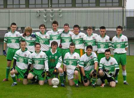 The Aodh Ruadh team that contested the Sean Slevin Final last Saturday.