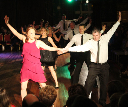 Scenes from Strictly Ballyshannon 2012.