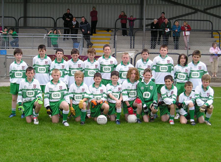 The under 12 Aodh Ruadh team that secured their place in the County final last Friday with a win over Saint Eunan's