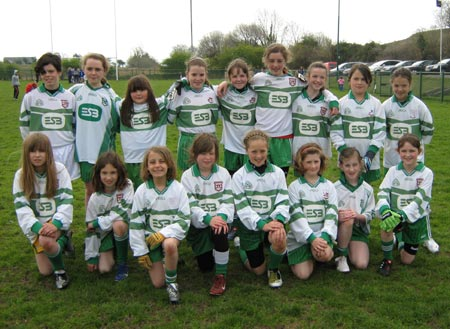 The under 12 girls squad.