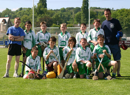 The Aodh Ruadh team which took part in the county under 12 hurling blitz in Letterkenny in June 2007.