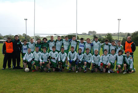 The Aodh Ruadh team pictured before the final.