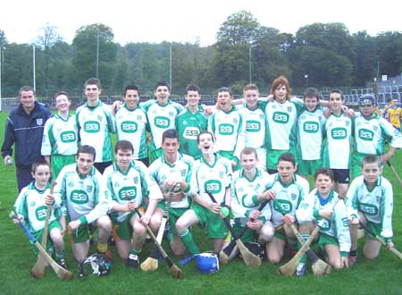 County Donegal Under 16 Hurling Champions 2006 - Aodh Ruadh.
