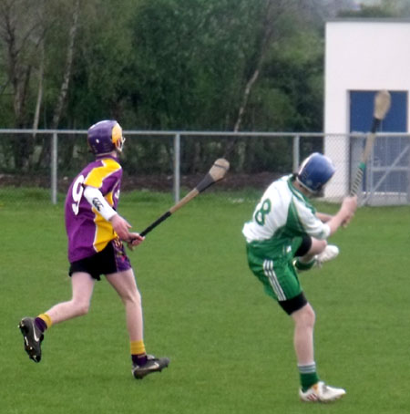 Action from the Ulster Feile blitz in Randalstown.