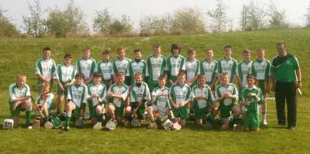 The Aodh Ruadh team which competed at the Ulster F�ile finals.