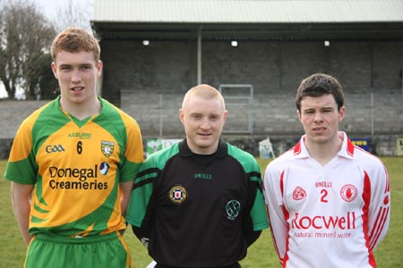 Action from Donegal v Tyrone in the Ulster minor league.