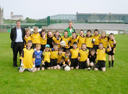 The Bundoran team which took part in the Willie Rogers Under 12 tournament in Ballyshannon last Saturday.